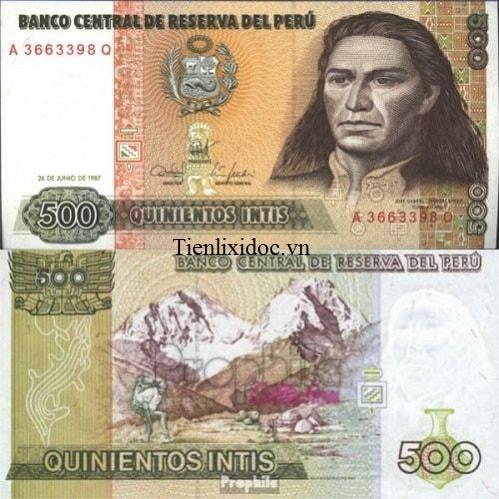 Peru 50 nuevo sol