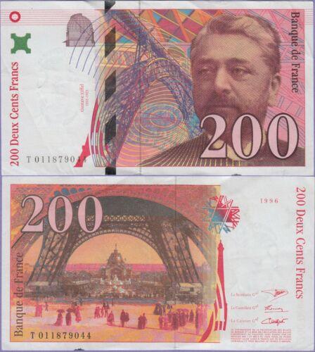 Pháp 200 francs 1996
