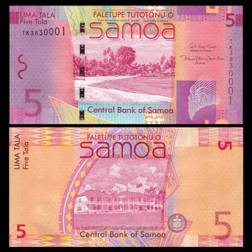 Samoa 5 tala 2017
