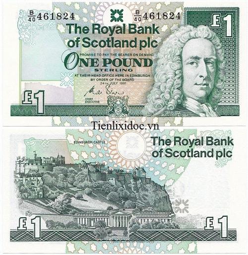 Scotland 1 bảng