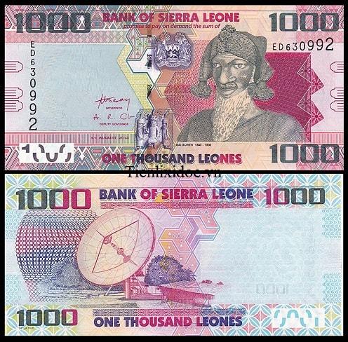 Sierra Leone 1000 leones