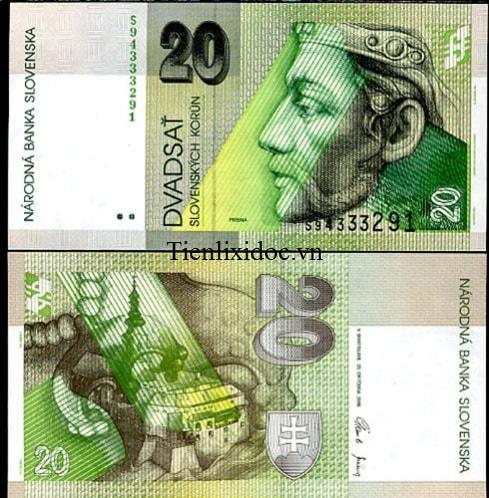 Slovakia 20 korun