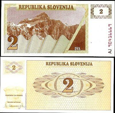 Slovenia 2 tolarjev 1990