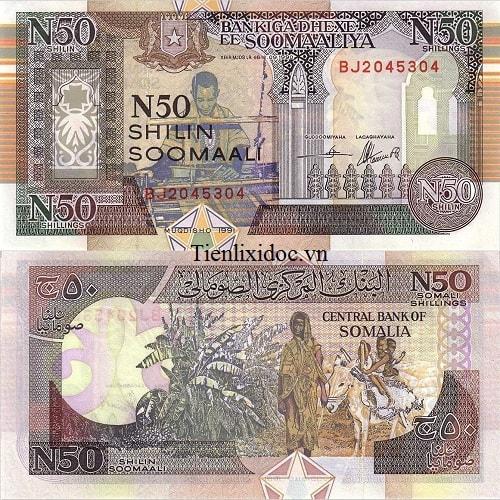 Somalia 50 shilling