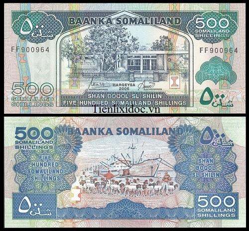 Somaliland 500 shilling