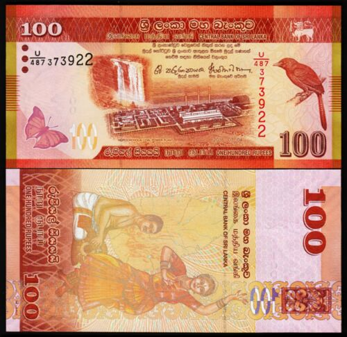 Sri Lanka 100 rupees 2016