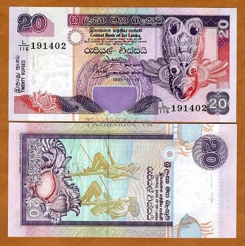 Srilanka 20 rupees 2006