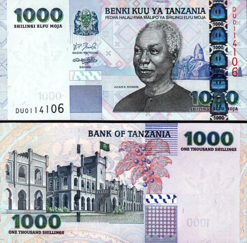 Tazania 1000 shilling 2003
