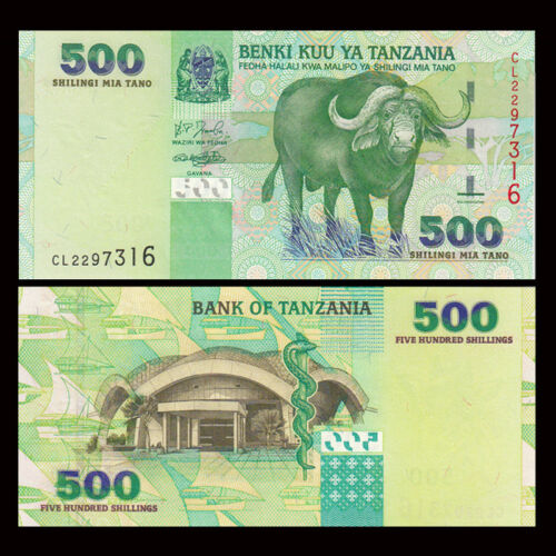 Tazania 500 shilling 2005