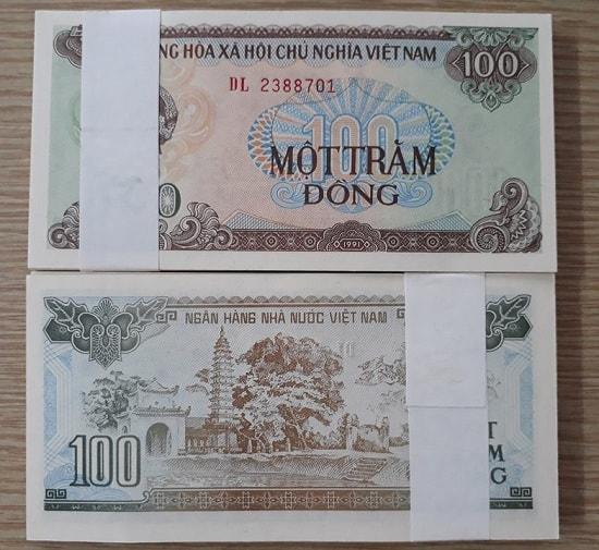 Tép 100 Đồng 1991 - 100 Tờ