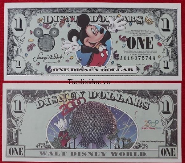 Tiền Lì Xì Người Tuổi Chuột 1 dollar