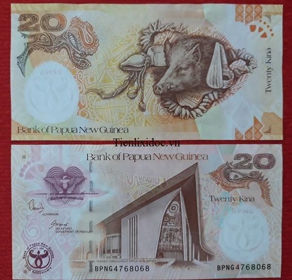 Tiền Lì Xì Người Tuổi Heo - Tiền Papua New Guinea