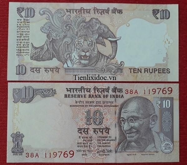 Tiền Lì Xì Người Tuổi Hổ - Tiền Ấn Độ