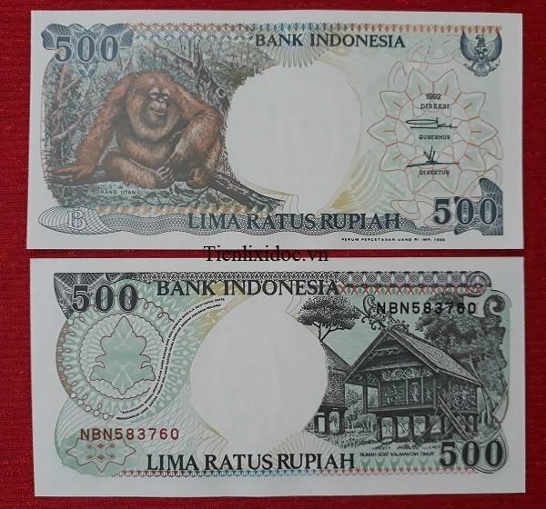 Tiền Lì Xì Người Tuổi Khỉ - Tiền Indonesia