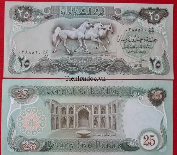 Tiền Lì Xì Người Tuổi Ngựa - Tiền Irắc
