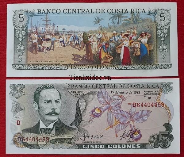 Tiền Mua May Bán Đắt - Costa Rica