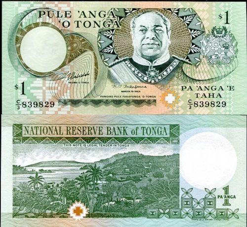 Tonga 1 paanga 1995