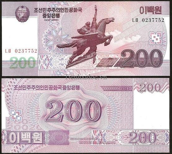 Triều Tiên 200 Won