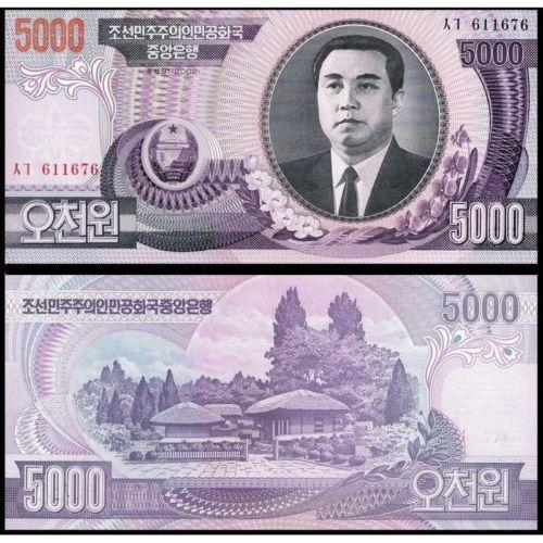Triều Tiên 5000 won 2002