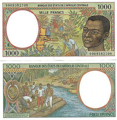 Trung Phi 1000 francs 1999