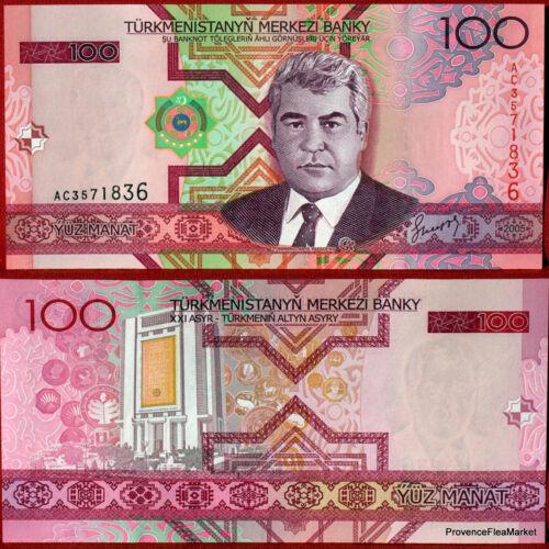 Tukmernistan 100 manat 2005