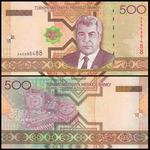 Tukmernistan 500 manat 2005