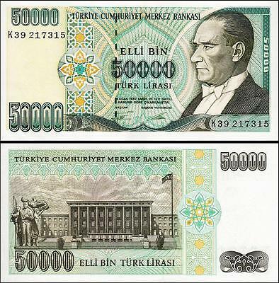 Turkey 50.000 lira 1970