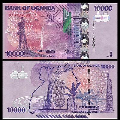 Uganda 10.000 shillings 2015