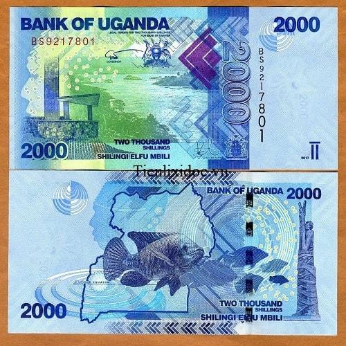 Uganda 2000 shilling