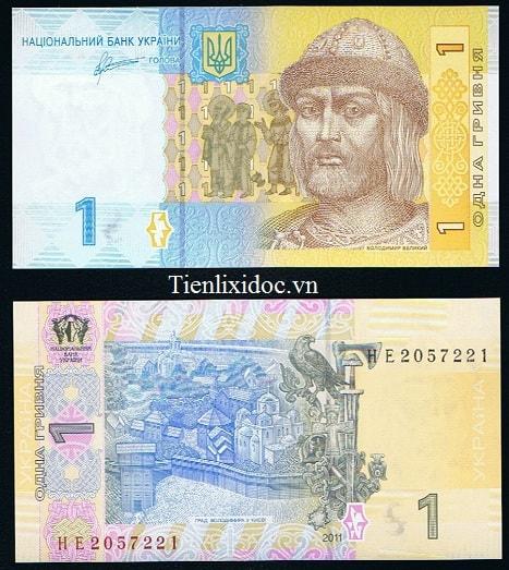 Ukraina 1 Hryvnia