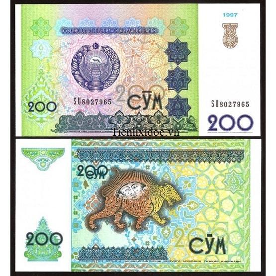 Uzbekistan 200 Som