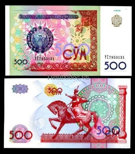 Uzbekistan 500 Som