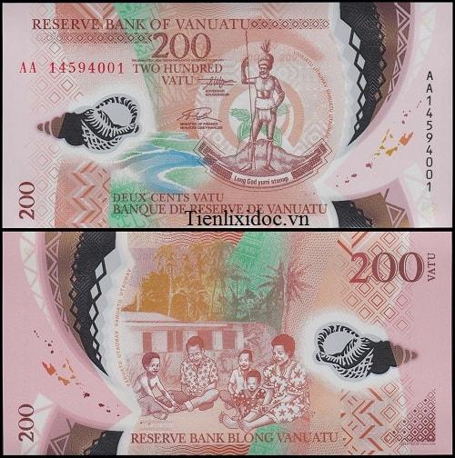 Vanuatu 200 vatu (polymer)