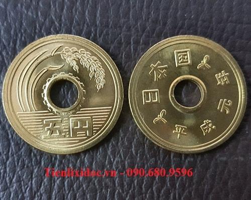 Xu 5 Yên Nhật - Đồng Xu May Mắn Nhất Thế Giới