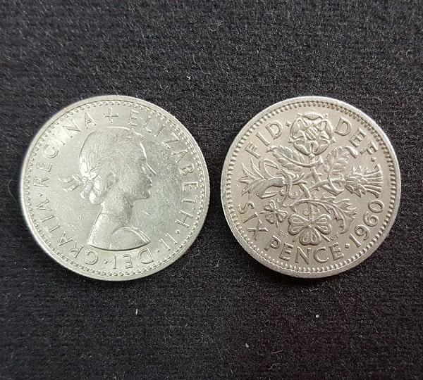 Xu Six Penny Của Anh - Top 10 Xu May Mắn Nhất Thế Giới