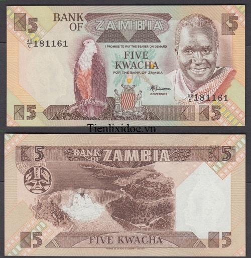 Zambia 5 kwacha